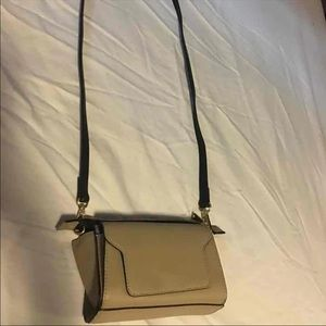 Shoulder bag taupe color